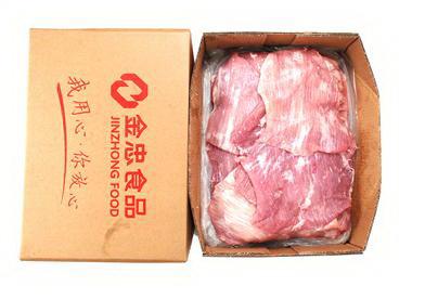 冻猪面精肉