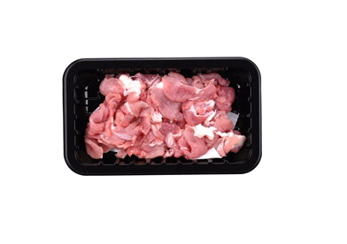 谷饲猪带脂前腿肉片